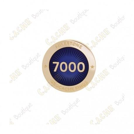 """Pin's """"Milestone"""" - 7000 Finds"""