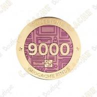 "Geocoin ""Milestone"" - 9000 Finds"