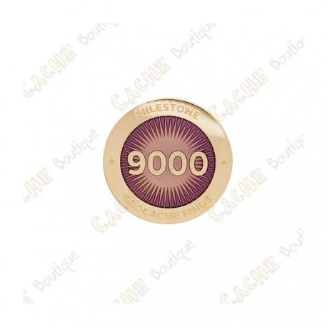 """Pin's """"Milestone"""" - 9000 Finds"""