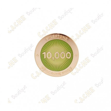 "Pin's ""Milestone"" - 10 000 Finds"