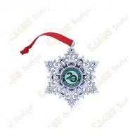 "Geocoin ""Snowflake Ornament"" - 20 Years of Geocaching"