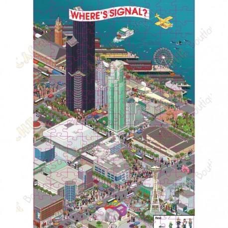 "Puzzle ""Where's Signal?"""