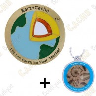 "Geocoin ""EarthCache™"" + Travel Tag"