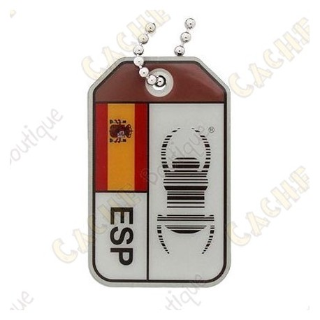 """Travel Bug """"Origins"""" - Espanha"""
