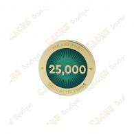 """Pin's """"Milestone"""" - 25 000 Finds"""