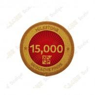 """Parche  """"Milestone"""" - 15 000 Finds"""