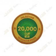 """Parche  """"Milestone"""" - 20 000 Finds"""